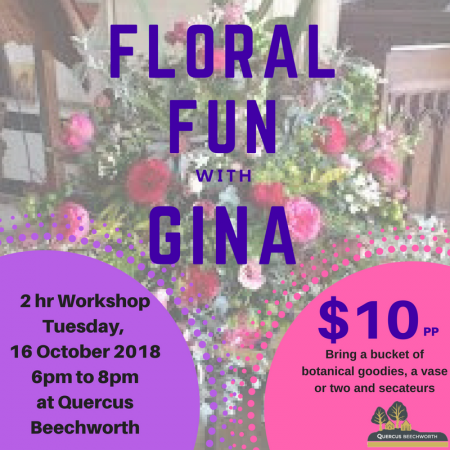 FLORAL FUN WITH GINA