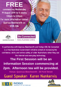 BE CONNECTED - Everyone Australian online! @ Quercus Beechworth
