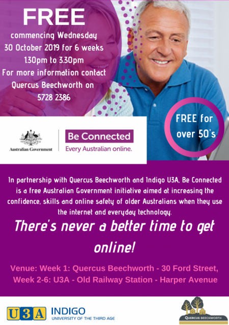 BE CONNECTED – Everyone Australian online!