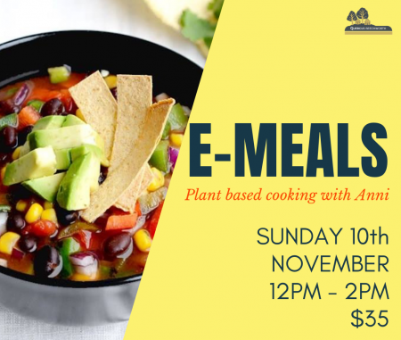 E-MEALS – Plant based cooking