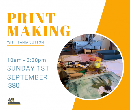 PRINT MAKING with Tania