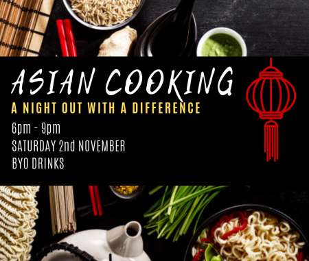 ASIAN COOKING – A night out with a difference