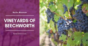 Vineyards of Beechworth panel discussion @ Burke Museum