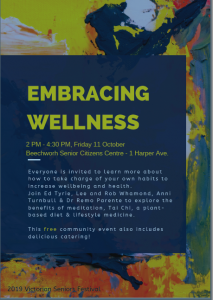 Embracing Wellness @ Beechworth Senior Citizen Centre