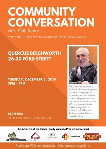 Community Conversation with Phil Cleary