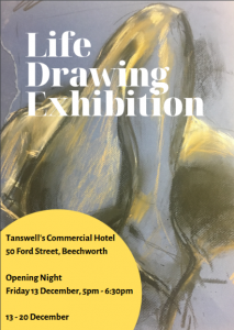 life Drawing Exhibition @ Tanswell's Commercial Hotel